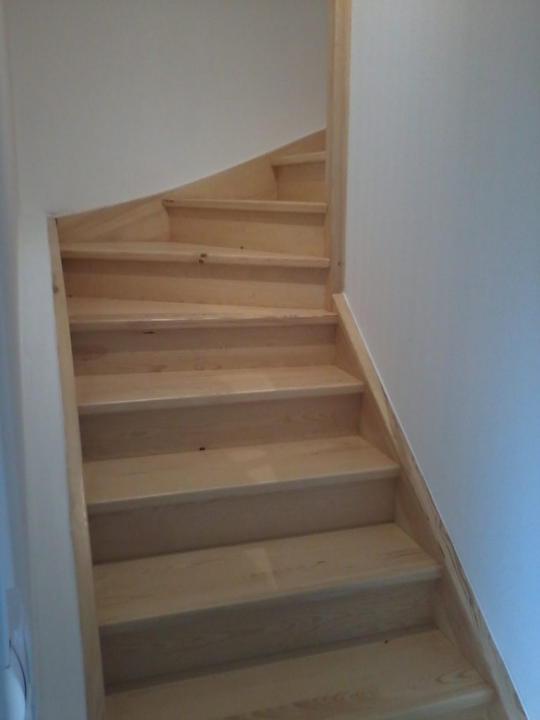 escalier avec contre marches